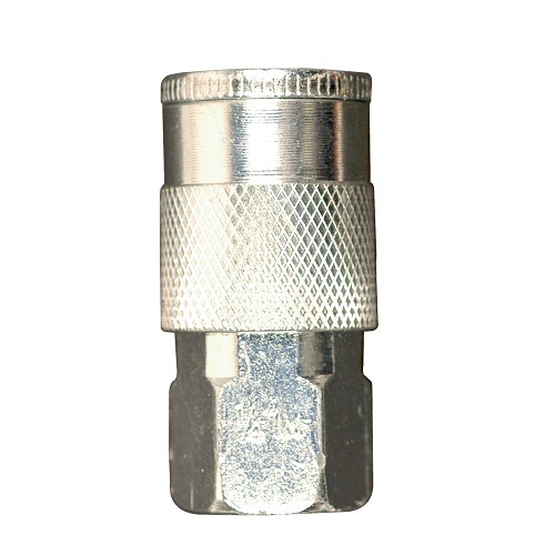 "Campbell Hausfeld 1/4"" I/M Steel Coupler Female (BC602100AV) product image center"