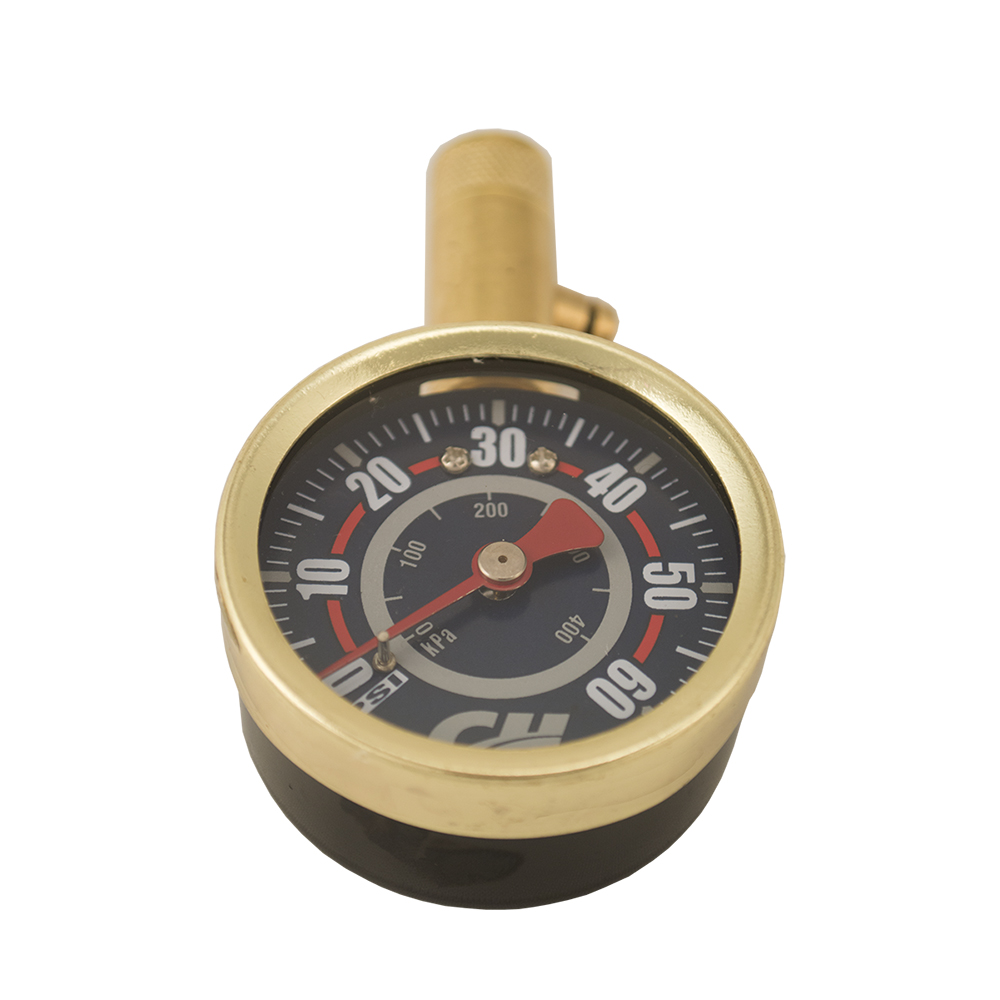 Shrader Tire Gauge, 0-60 PSI (DA552400) front view