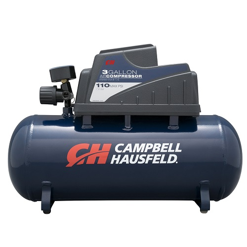Campbell Hausfeld Air Compressor, 3-Gallon, Horizontal (DC030000) product image center