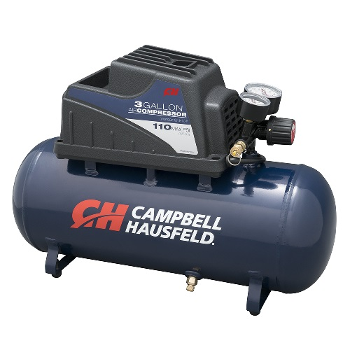 Campbell Hausfeld Air Compressor, 3-Gallon, Horizontal (DC030000) product image left