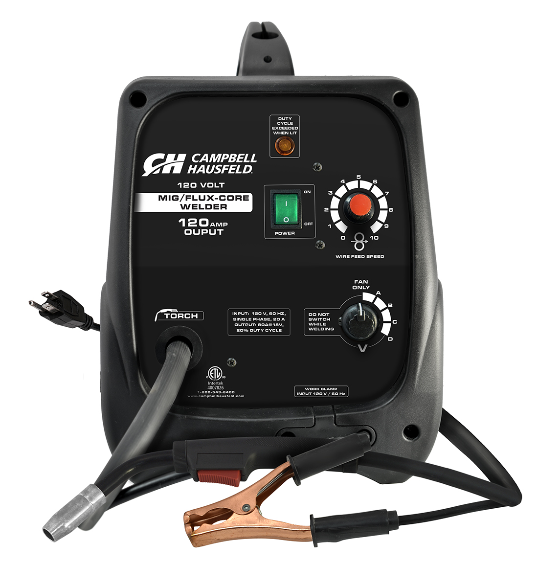 MIG/Flux Core Welder, 120 Amps with Accessories (DW313000)