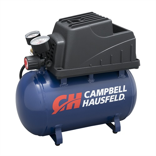 Campbell Hausfeld Air Compressor, 2-Gallon Hot Dog Oilless .36 CFM .33HP 120V 3A (FP209000AV) product image left