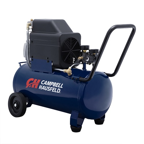 Campbell Hausfeld Air Compressor, 8-Gallon Horizontal Oil-Lubricated 3.7CFM 1.3HP 120V 10A 1PH (HL540100AV) product image left angle