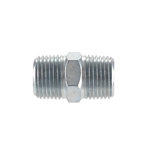 "Campbell Hausfeld Hex Nipple, 3/8"" Male NPT (MP213600AV) product image side"