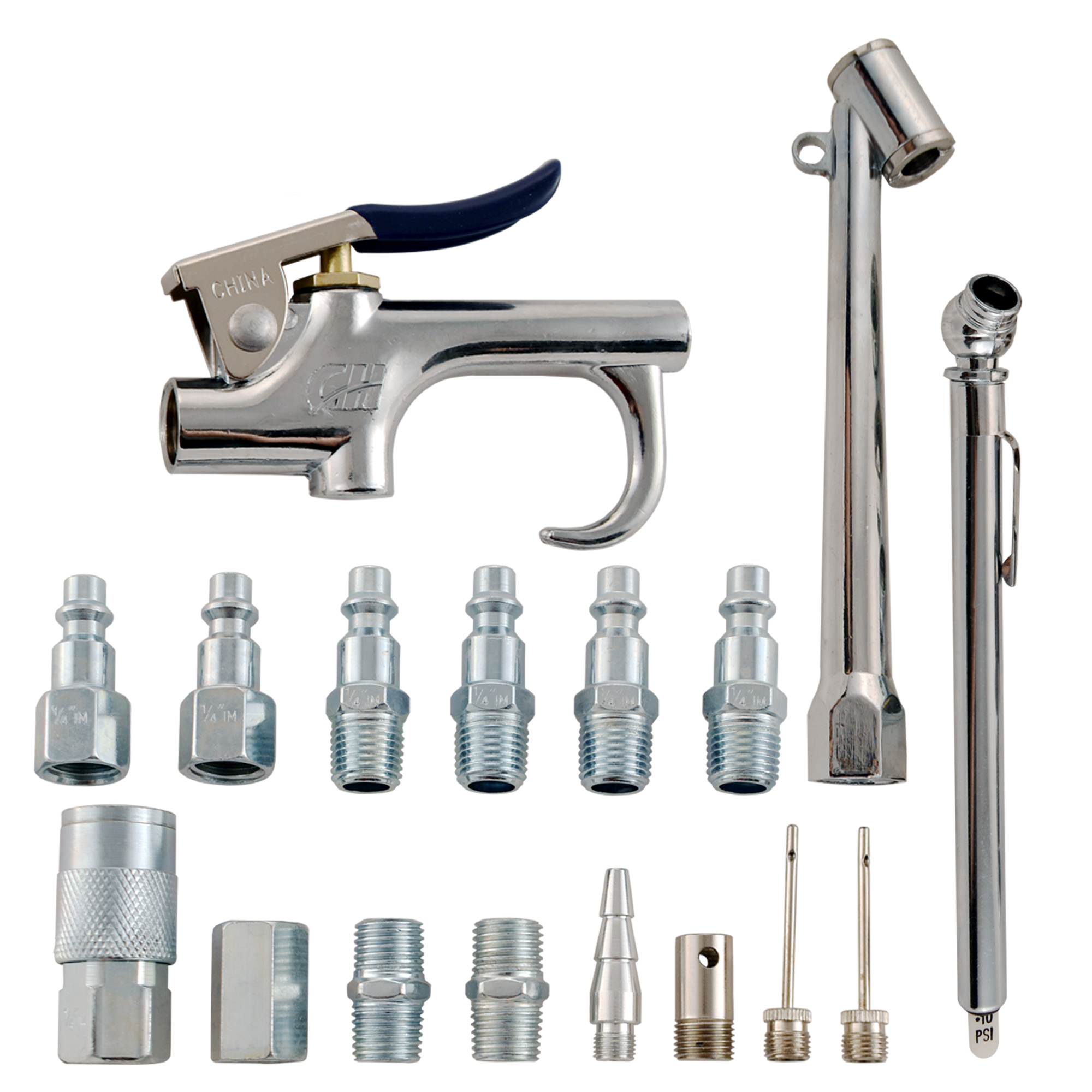 "Campbell Hausfeld Kit, 17-Piece Accessory 1/4"" I/M (MP284701AV) product image center"