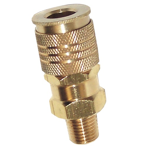 "Campbell Hausfeld 1/4"" Univ Coupler 1/4"" Male (MP333600AV) product image center"