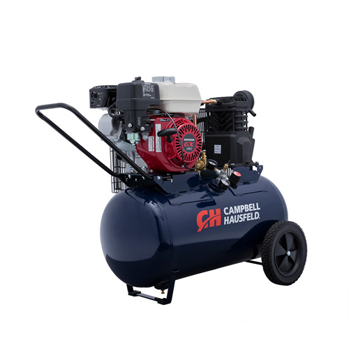 Campbell Hausfeld Air Compressor, 20-Gallon Horizontal Portable Single-Stage 10.2CFM GX160 Honda (VT6171) product image right