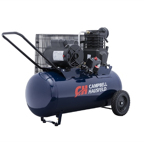 Campbell Hausfeld Air Compressor, 15-Gallon Horizontal Portable Single-Stage 5.5CFM 2HP 120/240V 1PH (VX4011) product image angle