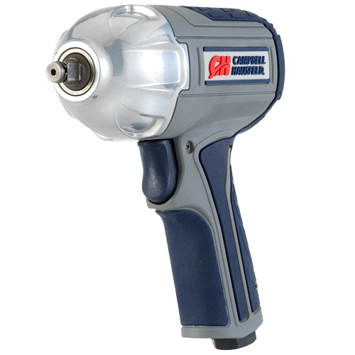 "Get Stuff Done 3/8"" Impact Wrench, Twin Hammer, Campbell Hausfeld, XT001000, front view"