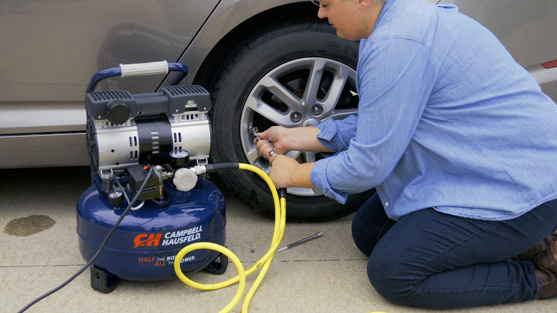 Selecting the Right Air Compressor Attachment for Projects Around the House