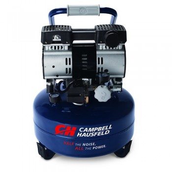 Campbell Hausfeld Air Compressor, 6-Gallon, Pancake, Quiet (DC060500) product image center
