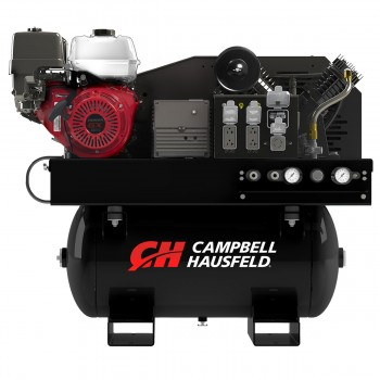 Campbell Hausfeld Combination Unit, 30-Gallon 14CFM Compressor 5000W Generator GX390 Honda (GR2200) product image center