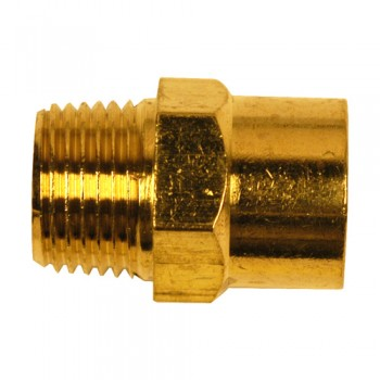 "Campbell Hausfeld 1/4"" Female NPT-3/8"" Male NPT Adapter (PA100100AV) product image center"