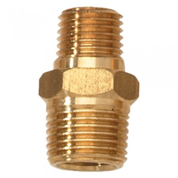 "1/4"" Male NPT-3/8"" Male NPT Adapter (PA111100AV)"