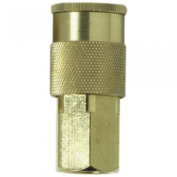 "Campbell Hausfeld 3/8"" I/M Coupler 3/8"" Female NPT (PA115000AV) product image center"