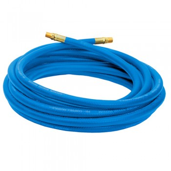 "Campbell Hausfeld 25' Air Hose 3/8"" ID Blue PVC (PA117701AV) product image center"
