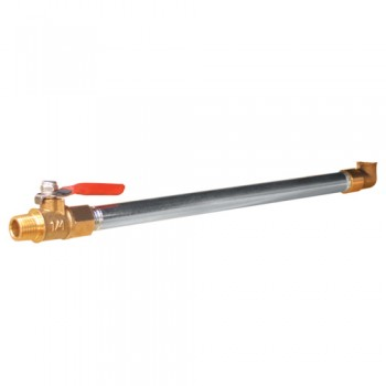 Campbell Hausfeld Compressor Drain Extension Kit (PA300500AV) product image right angle