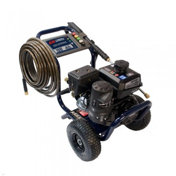 Gas Powered Pressure Washer, 3400 PSI, 2.5 GPM, Tri-Plex Pump, Kohler CH270 (PW340200) product image angle