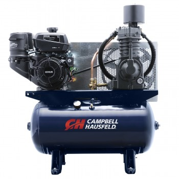 Air Compressor, 30 Gallon Kohler Gas Engine, 26.1 CFM, 14 HP (TF2136)