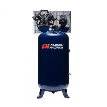 Campbell Hausfeld Air Compressor, 80-Gallon Vertical Single-Stage 16CFM 5HP 208-230V 1PH (TQ3104) product image center