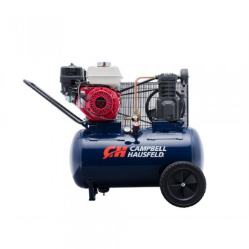 Campbell Hausfeld Air Compressor, 20-Gallon Horizontal Portable Single-Stage 10.2CFM GX160 Honda (VT6171) product image center