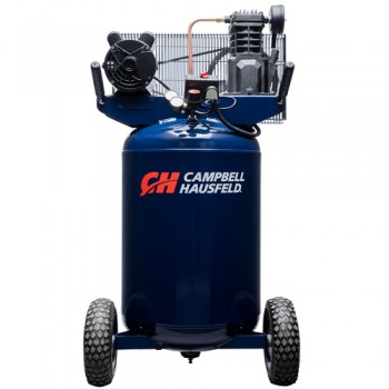 Campbell Hausfeld Air Compressor, 30-Gallon Vertical Portable Single-Stage 5.5CFM 2HP 120/240V 1PH (VT6258) (VT6358) product image center