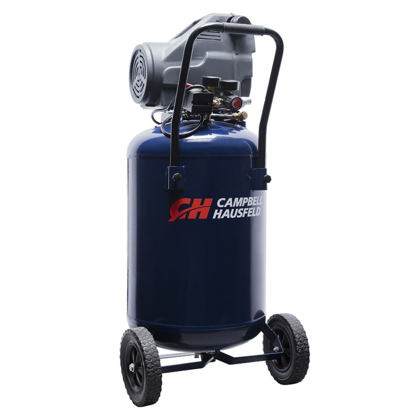 Campbell Hausfeld Air Compressor, 20-Gallon Horizontal Oilless 4 CFM 1.8HP 120V 13A (DC200100) product image right