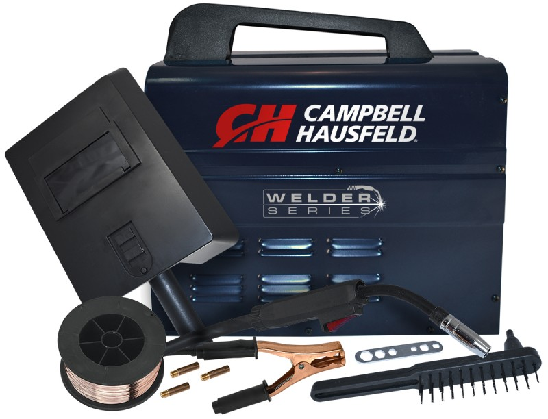 Campbell Hausfeld Flux Core Wire Welder 115 Volts 90 Amps with Welder Accessories profile